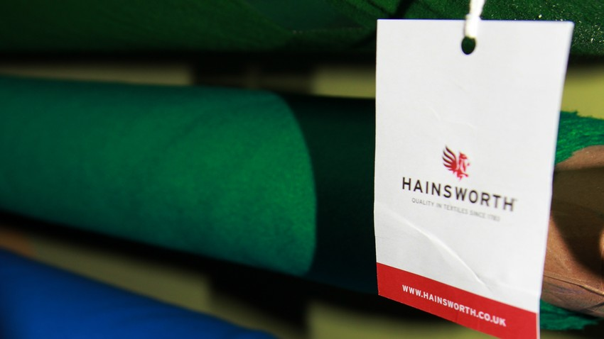 Сукно Hainsworth elite pro tournament green
